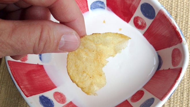 Thinking about dipping a chip twice? Science says don't do it.