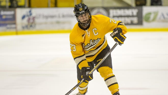The Huskies are led by forward Alex Petan, who was recently named the WCHA player of the year.