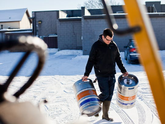 """Every season, every aspect of the craft beer business (even carrying kegs) is captured in """"State of Craft Beer."""""""