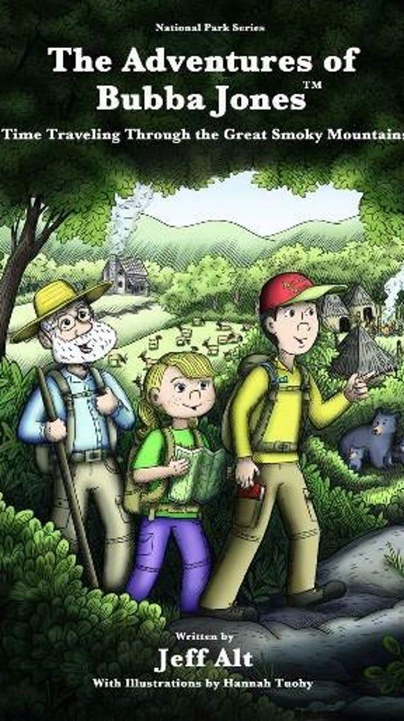"""The Adventures of Bubba Jones"" author Jeff Alt will"