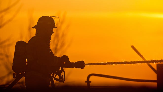 Extra help was called in after Friday morning's fire at a farm near Angelica spread to a shed.