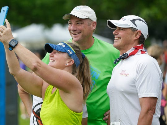 Nearly 14,000 people participated in the 41st annual Bellin Run on Saturday in Green Bay.