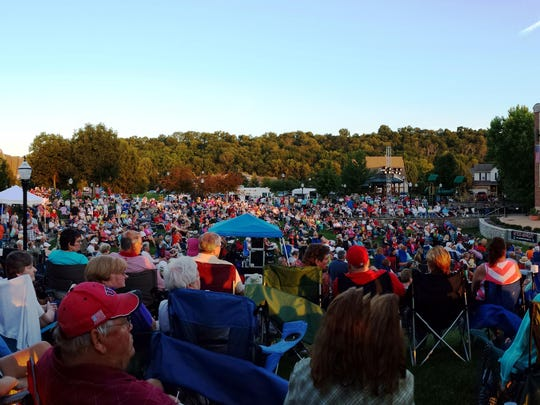 Fairfield's Groovin' on the Green concert series is always a popular summer event.