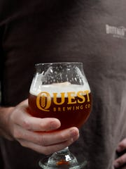 Quest Brewing of Greenville saw remarkable growth in 2014 as it began selling its beers in North Carolina including Asheville. It's expecting another huge year in 2015.