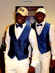 Dunbar High's Shocky and Rocky Jacques-Louis share