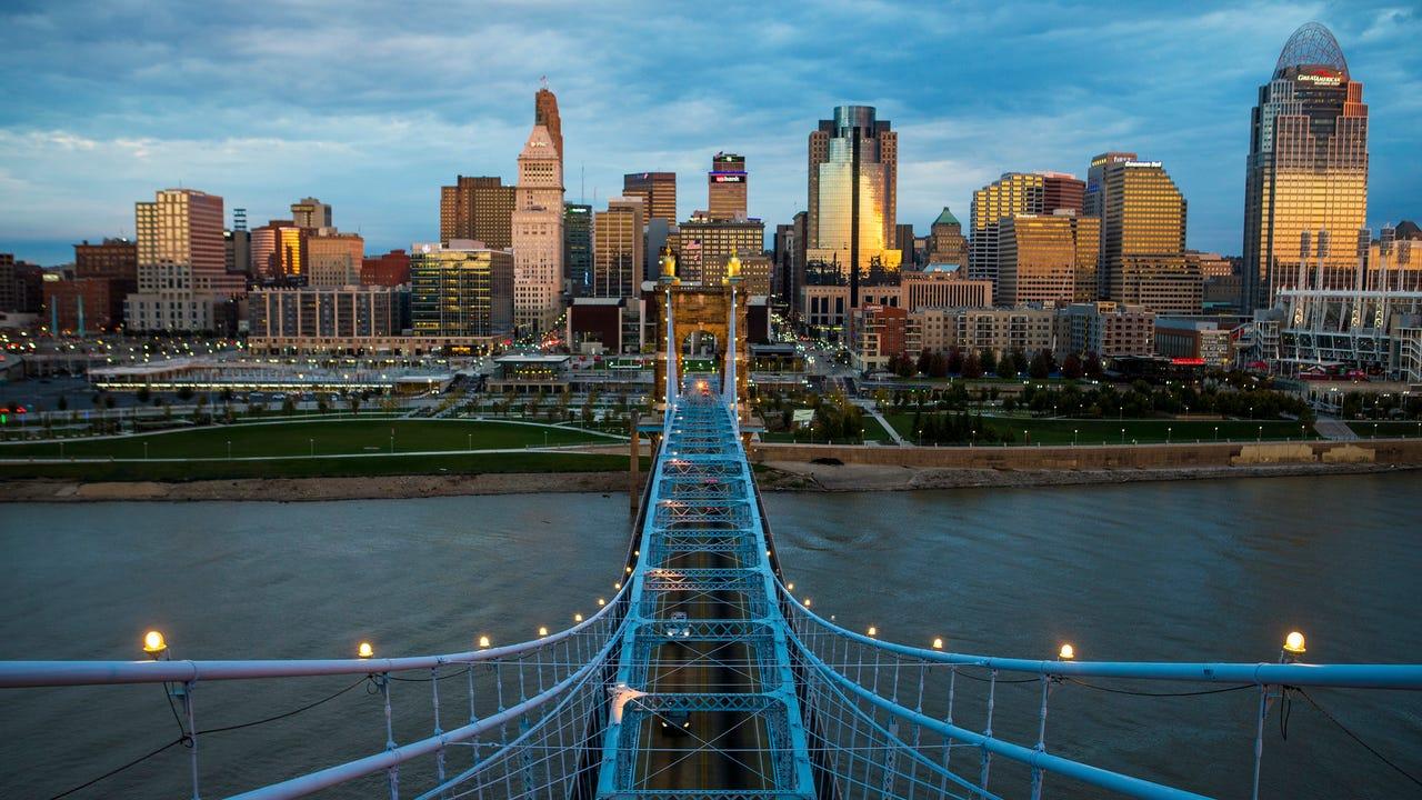 Happy 150th Birthday, John A  Roebling Suspension Bridge