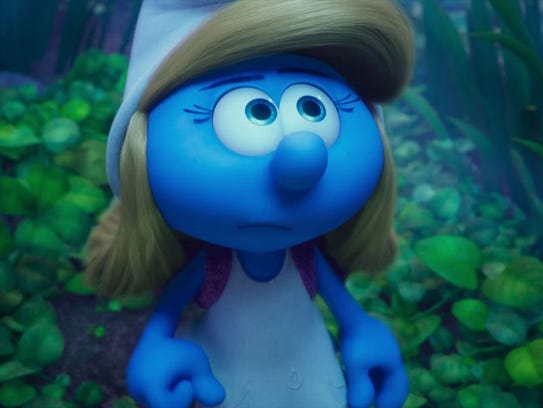"""Catch a free screening of """"Smurfs Lost Village"""" at"""