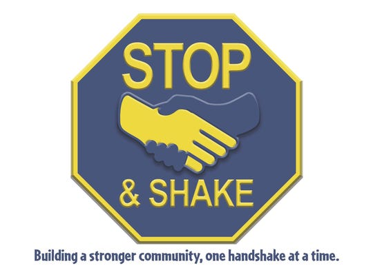 Logo for Stop and Shake campaign