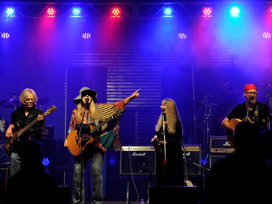 Soul Free Revival performs during Garage Band Woodstock 6 in August 2015 at the Taylor County Expo Center. The eighth annual event is Saturday at the Expo Center Display Building.