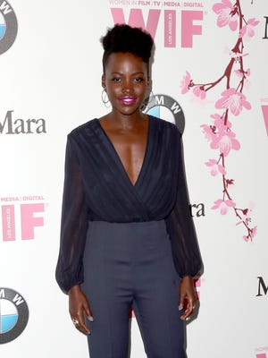 Actress Lupita Nyong'o attends the Women In Film 2017 Crystal + Lucy Awards on June 13, 2017 in Beverly Hills.