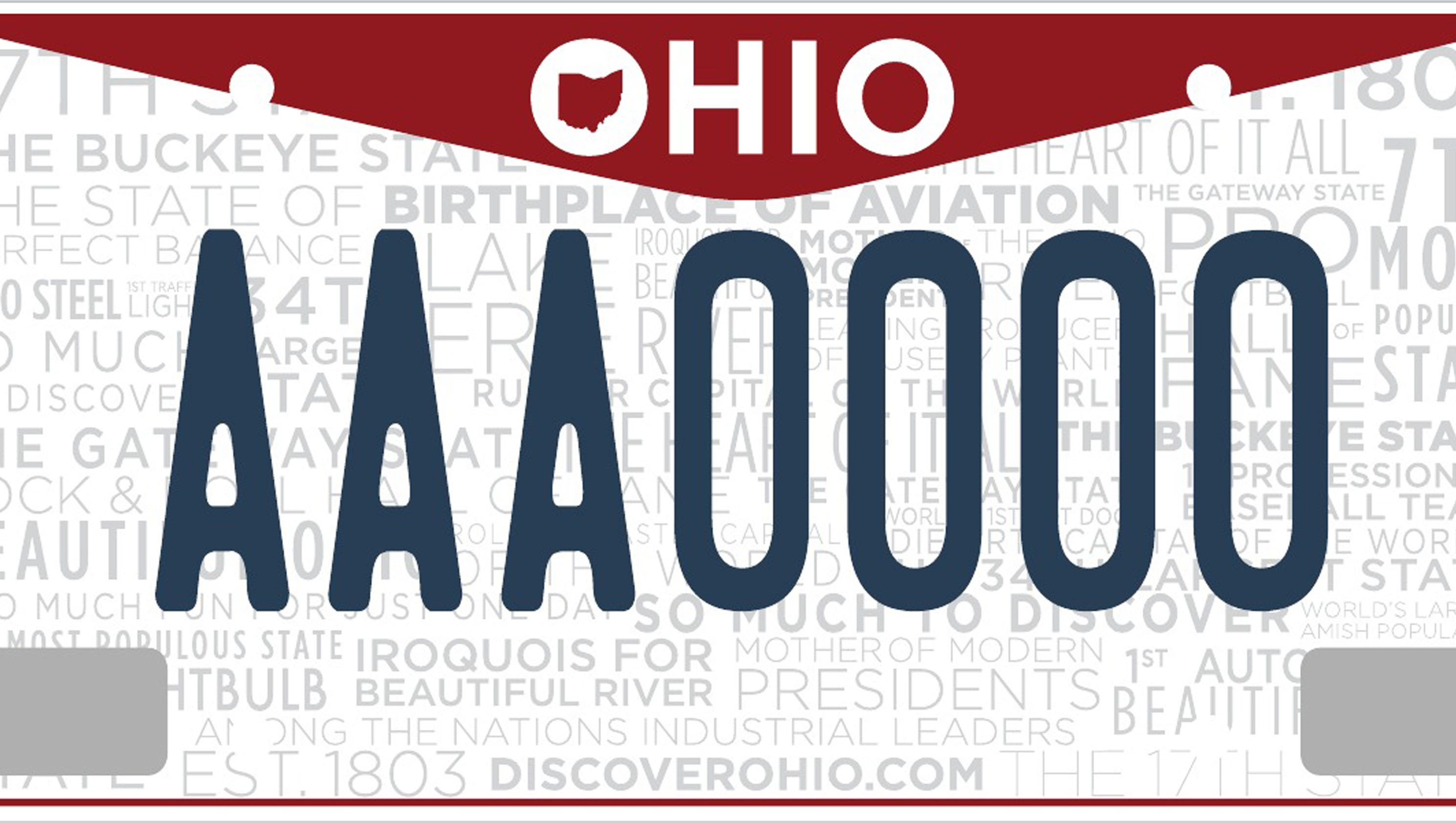 Here are all 403 personalized license plates denied by Ohio last year