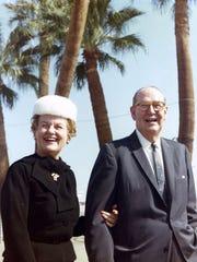 Melba and Frank Bennett c. 1960