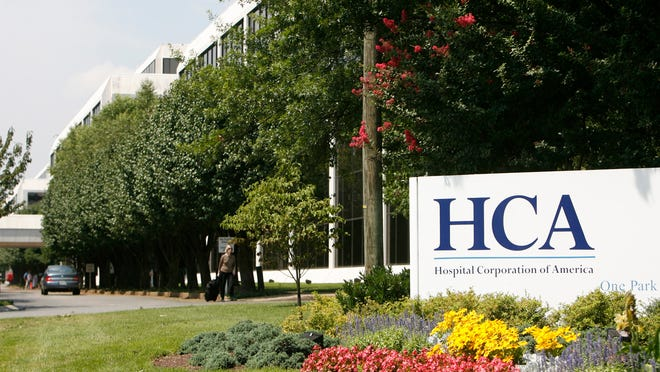 File photo taken in 2006 shows Hospital Corporation of America headquarters in Tennessee.