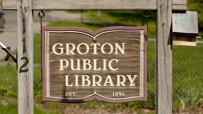 The Groton Public Library.