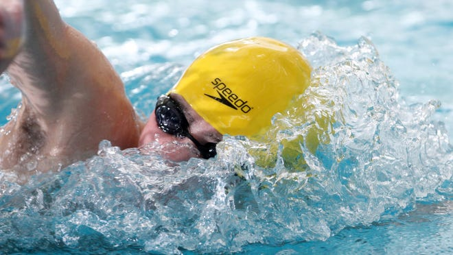 North Brunswick's Vincent Gibbons is the Home News Tribune Boys Swimmer of the Year