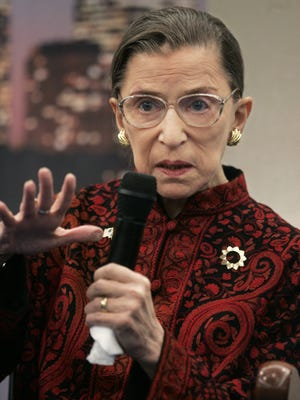 U.S. Supreme Court Justice Ruth Bader Ginsberg still can't believe it happened.