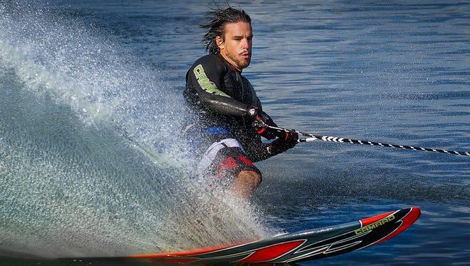 Adam Sedlmajer is a world champion water skiier.