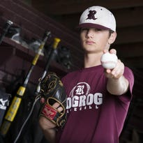 Rogersville junior pitcher Jacob Schlesener is one of the top returning prep baseball talents in the Ozarks. He has already committed to the University of Arkansas.