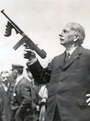 Gen. John T. Thompson, inventor of the Thompson submachine gun, or Tommy gun, was born in Newport.