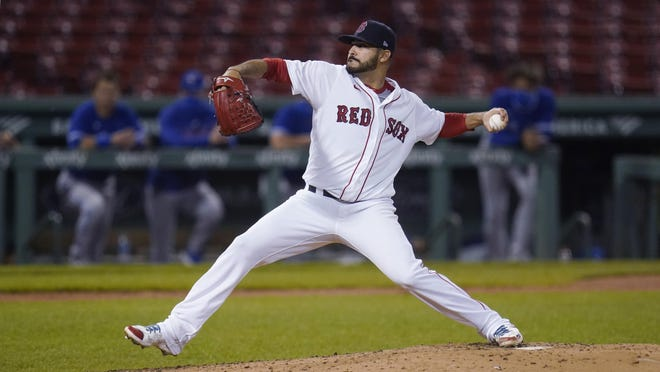 Martin Perez will start one of the games for the Boston Red Sox in Tuesday's doubleheader against Philadelphia.
