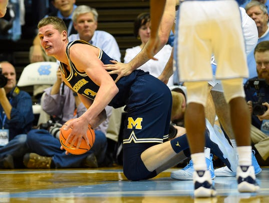 NCAA Basketball: Michigan at North Carolina