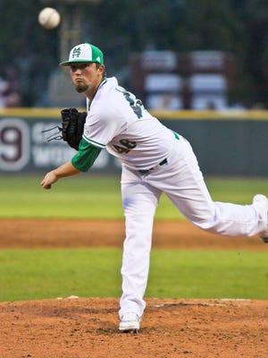 Mississippi State pitcher Lucas Laster gets the start Thursday against South Carolina.