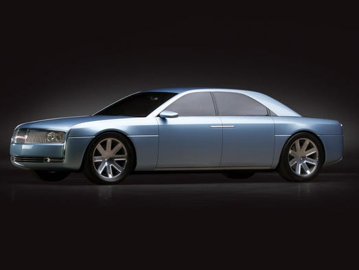 The 2002 Ford Lincoln Continental concept