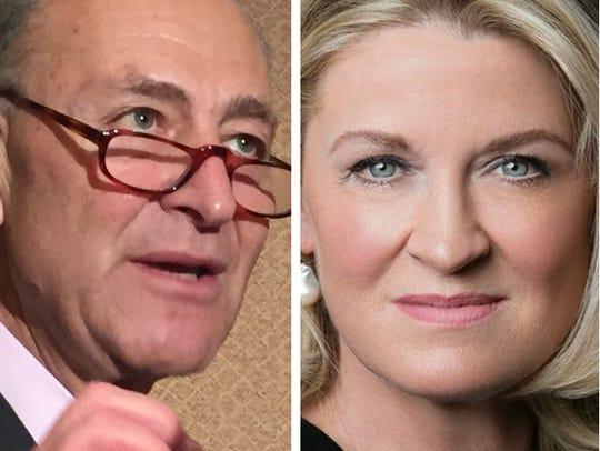 Democratic Sen. Chuck Schumer is being challenged by