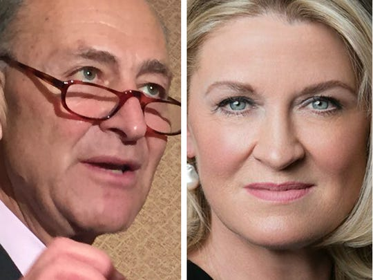 Democratic Sen. Chuck Schumer is being challenged by Republican Wendy Long on the November ballot.