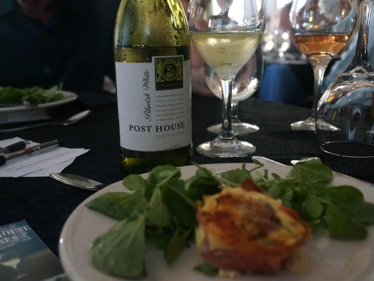 Wines from South Africa's Post House were showcased