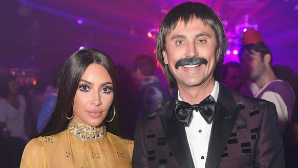Kim Kardashian and Jonathan Cheban attend Casamigos
