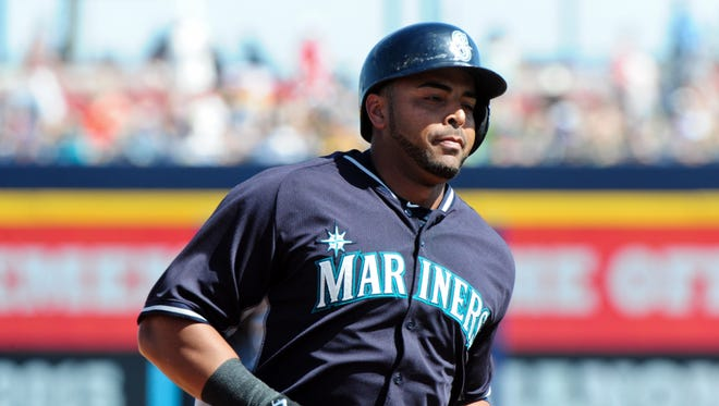 Nelson Cruz signed with the Mariners this offseason to join forces with Robinson Cano.