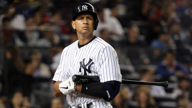 Alex Rodriguez has $61 million remaining in the original 10-year, $275 million deal.