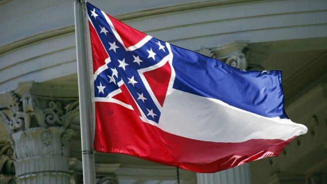 Mississippi's state flag