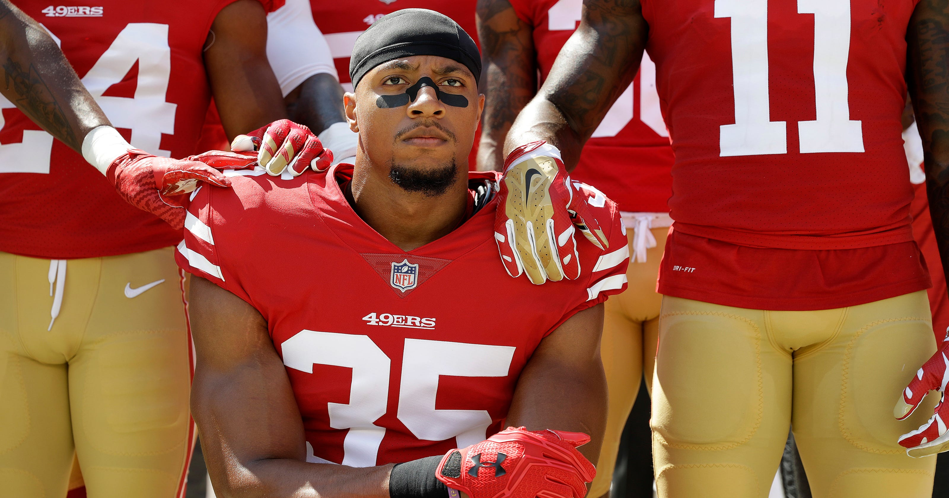 Eric Reid says he s baffled by how protest is being misconstrued b4d268818