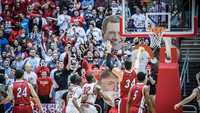 Thousands of fans attend Ball State's game against Northern Illinois Friday night.