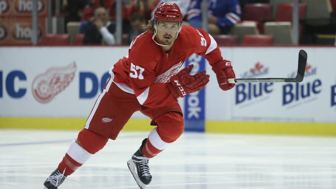 Mitch Callahan of the Red Wings