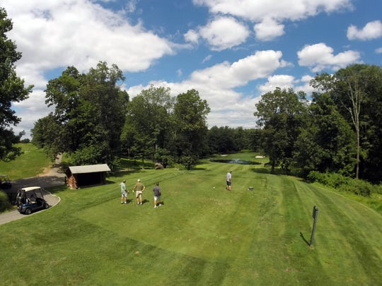 The 7th hole at Mohansic Golf Course in Yorktown July 26, 2017.