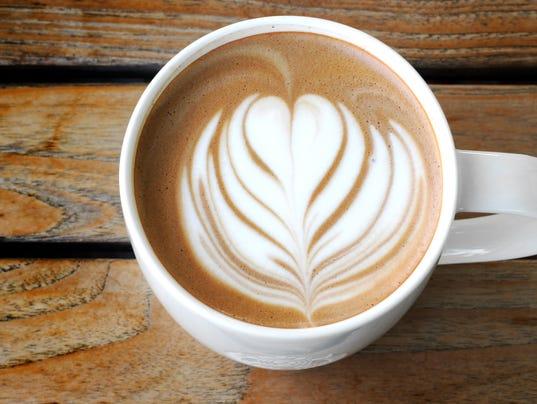 lattee art coffee cup