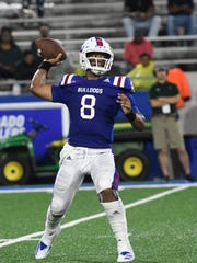 Louisiana Tech quarterback J'Mar Smith will lead his team against UTEP on Saturday.