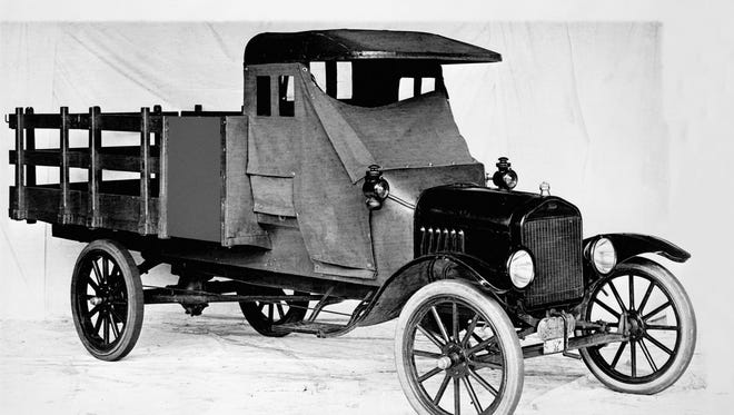 1918 Ford Model TT one-ton stake bed truck
