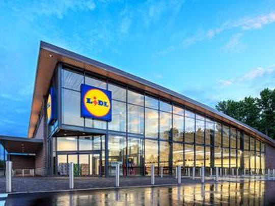 German grocer Lidl is hiring workers for its first South Jersey stores  that will have this design