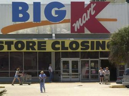 This Kmart in Indian Harbour Beach closed in 2002. It was replaced by a Lowe's Home Improvement store.