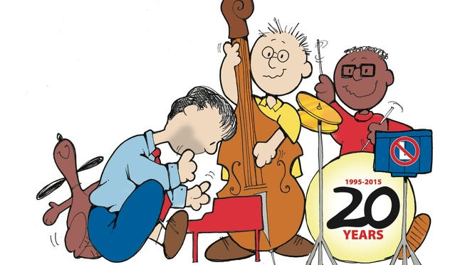The Cartoon Christmas Trio will conclude its 20th season with a show in Wilmington Sunday.
