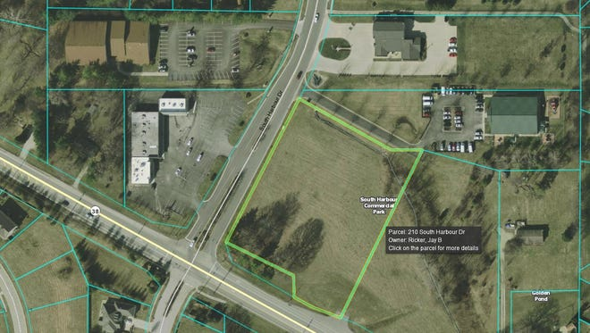 Site of a proposed and withdrawn Ricker's gas station in Noblesville