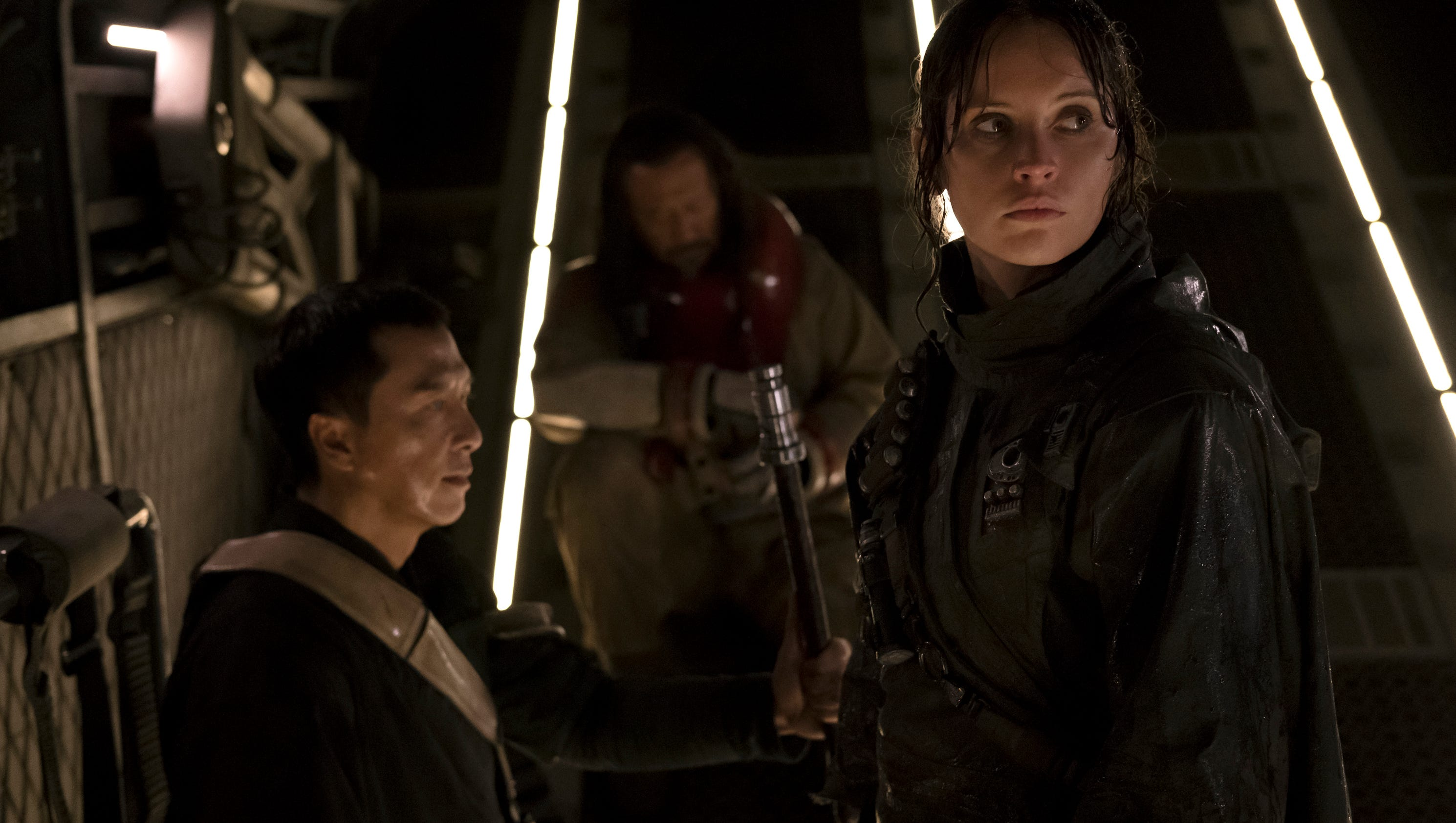 Review: 'Rogue One' struggles with ties to 'Star Wars' past