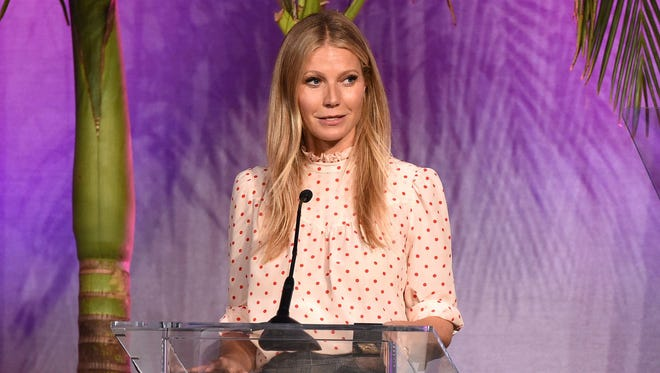 Gwyneth Paltrow speaks at the Variety Power of Women event, presented by Lifetime.