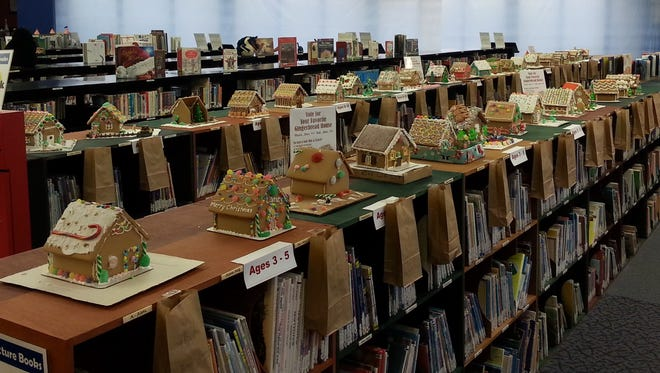 A Gingerbread House Contest will benefit the Guthrie Memorial Library's Children's Library.