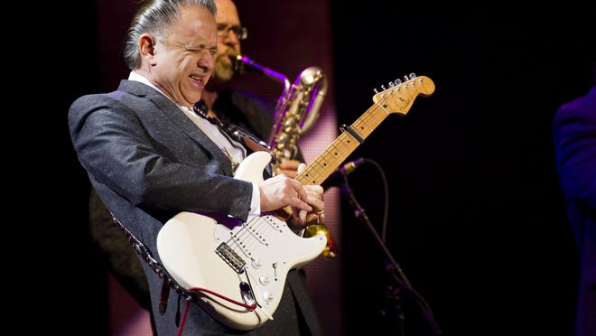Jimmie Vaughan performs at Eric Clapton's Crossroads Guitar Festival 2013 at Madison Square Garden in New York. Catch him Friday at DTA!