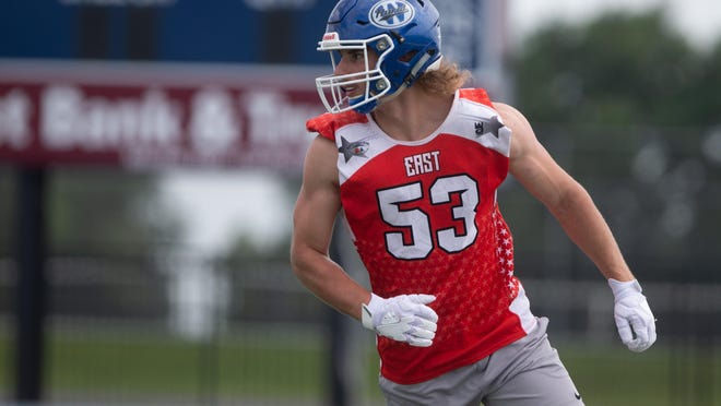 Washburn Rural All-City Top 11 pick Drake McCall will play for the East in Saturday night's Kansas Shrine Bowl before walking on at Kansas State.